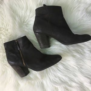 BP Leather Black Boots